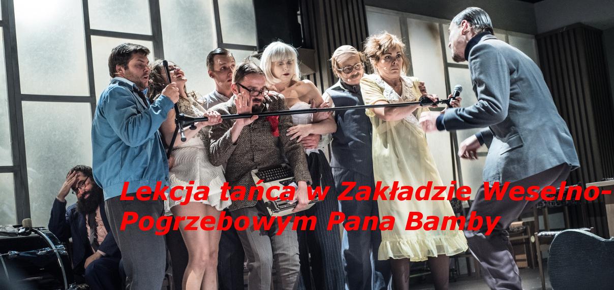 Teatr Miejski w Gliwicach_ Lekcja_ baner z tekstem