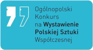 Ogólnopolski Konkurs na Wystawienie Polskiej Sztuki Współczesnej_logo