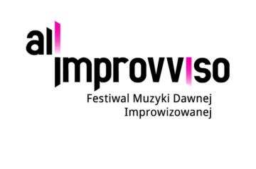 Logo All'Improvviso Festiwalu Muzyki Dawnej Improwizowanej. Klikając w logo przechodzisz na stronę facebookową festiwalu.