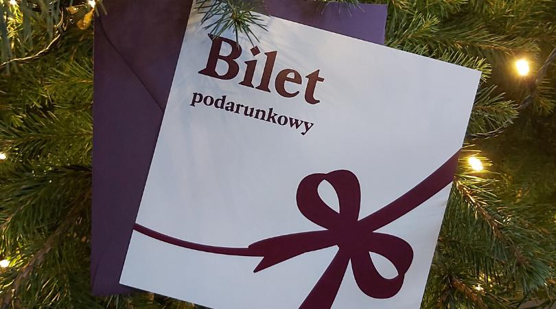 Bilet podarunkowy do Teatru Miejskiego w Gliwicach. Najlepszy prezent na święta
