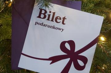 Bilet Podarunkowy do Teatru Miejskiego w Gliwicach. Najlepszy prezent na święta.