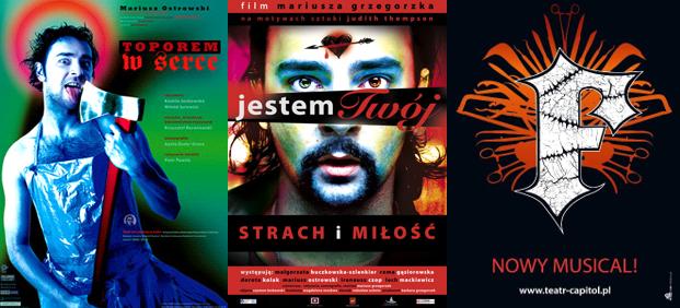 Teatr Miejski w Gliwicach_Mariusz Ostrowski_plakaty