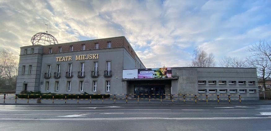 Budynek Teatru Miejskiego w Gliwicach.