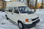 Samochód osobowy transporter biały