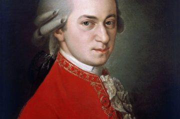 Portret Amadeusza Mozarta namalowany przez Barbarę Krafft