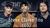 Festiwal PalmJazz - Steve Clarke Trio, baner promujący koncert