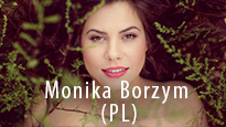 Festiwal PalmJazz - Monika Borzym, baner promujący koncert