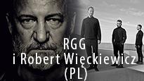 Festiwal PalmJazz: RGG&Robert Więckiewicz, baner promujący koncert