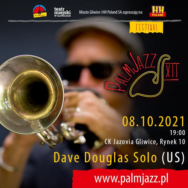 Festiwal PalmJazz - Dave Douglas, baner promujący koncert