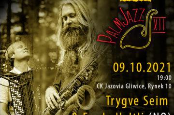 Festiwal PalmJazz: Trygve Seim & Frode Haltli baner promujący koncert