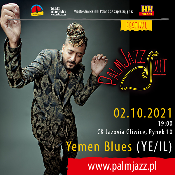 Yemen Blues baner promocyjny koncertu