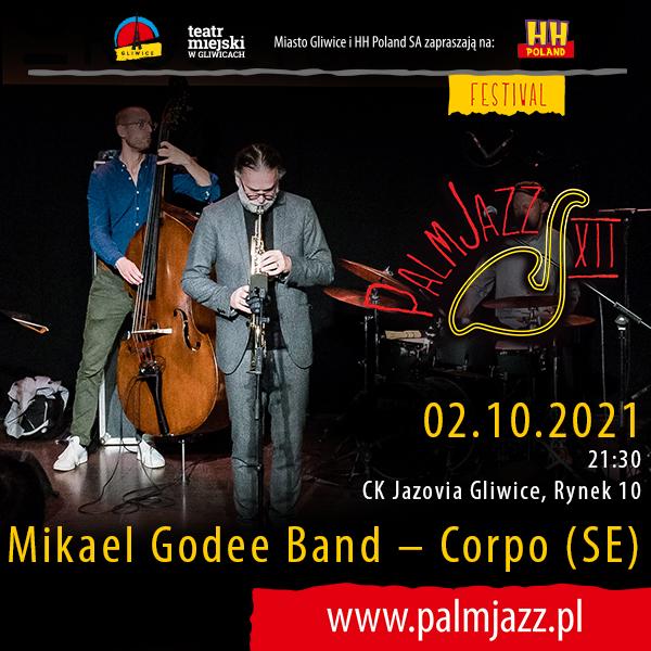 Mikael Godee Band – Corpo  baner promocyjny koncertu