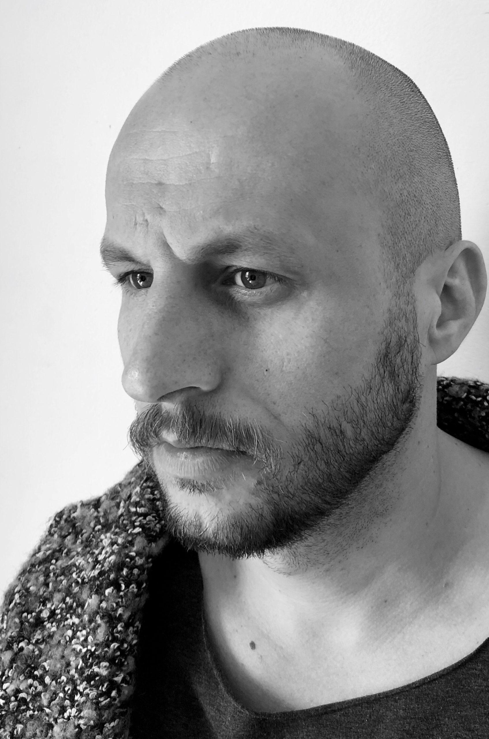Portret aktora Tomasza Borkowskiego
