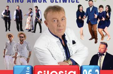 Plakat koncertu Dzień Seniora z Radiem Silesia