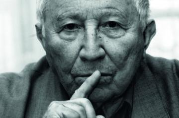 Tadeusz Różewicz - zdjęcie autorstwa Adama Hawałeja